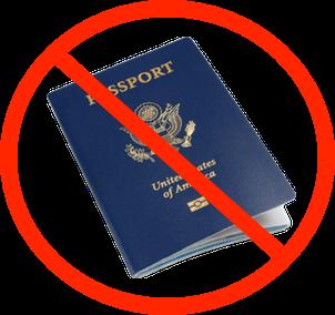No passports
