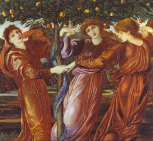 Painting of the Garden of the Hesperides