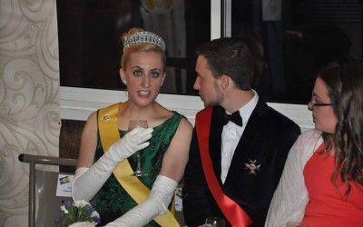 Queen Carolyn and Sovereign-Prince Vincent of Helianthis