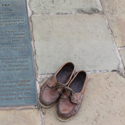 Former President's Old Shoes