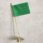 Ladonian Desk Flag with Stand